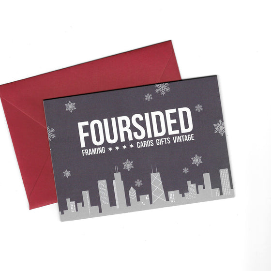 Gift Card Foursided - Foursided