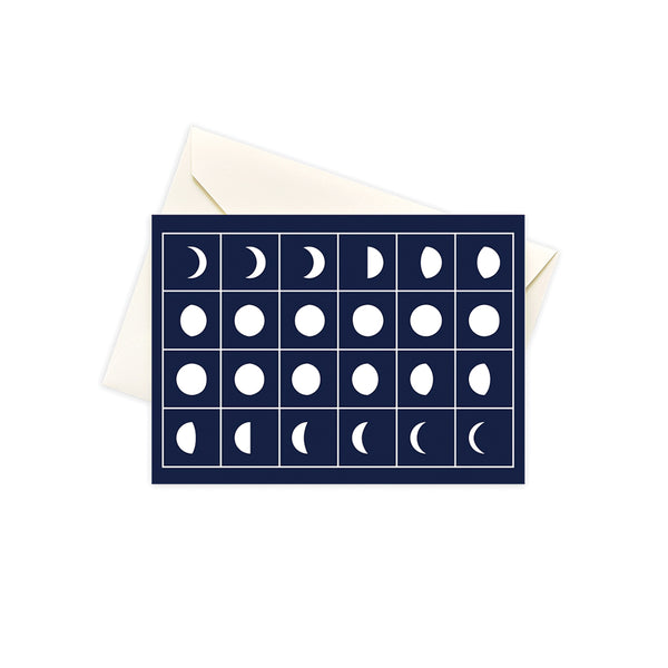 Moon Phase Notecard Set (10)
