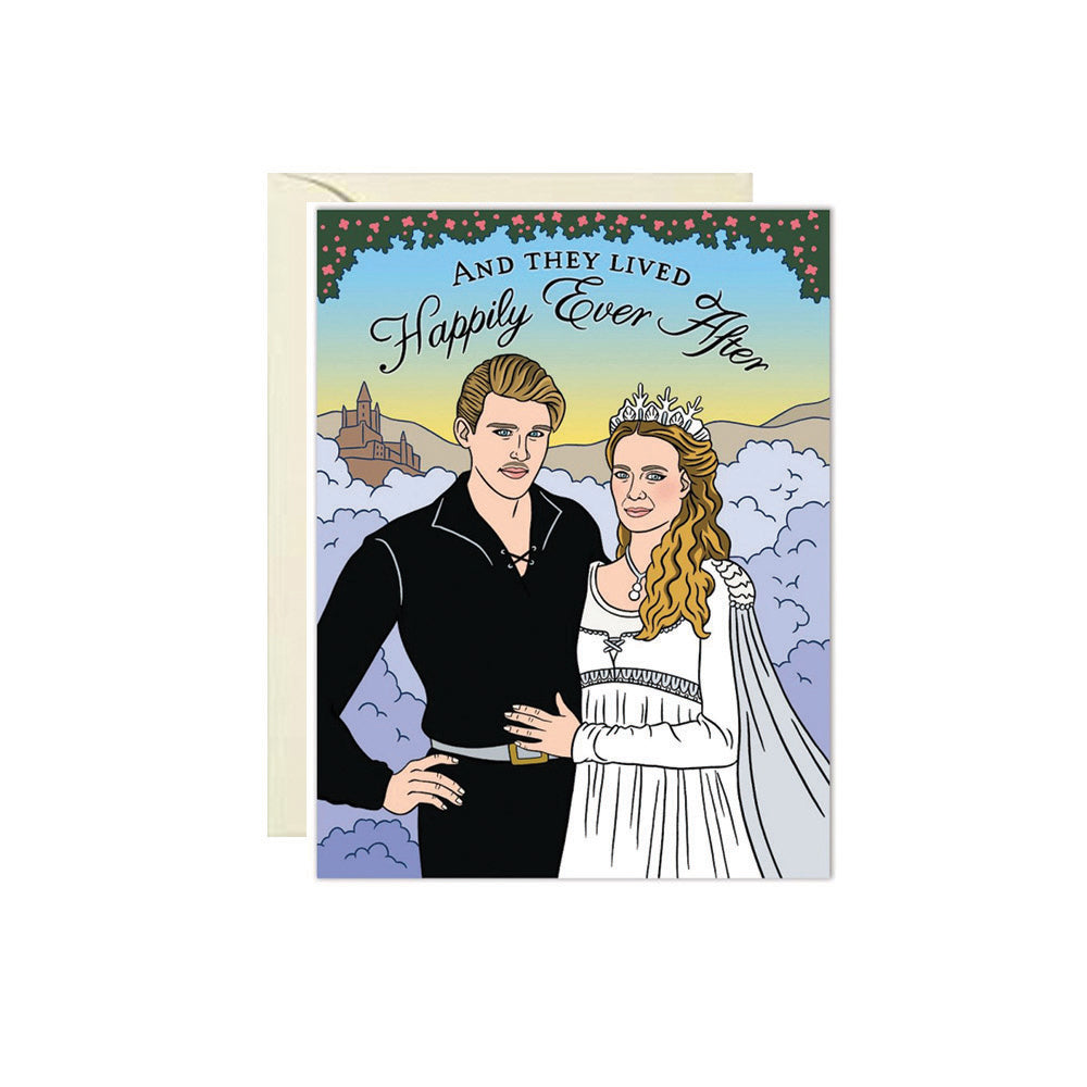 Princess Bride Wedding Card The Found - Foursided