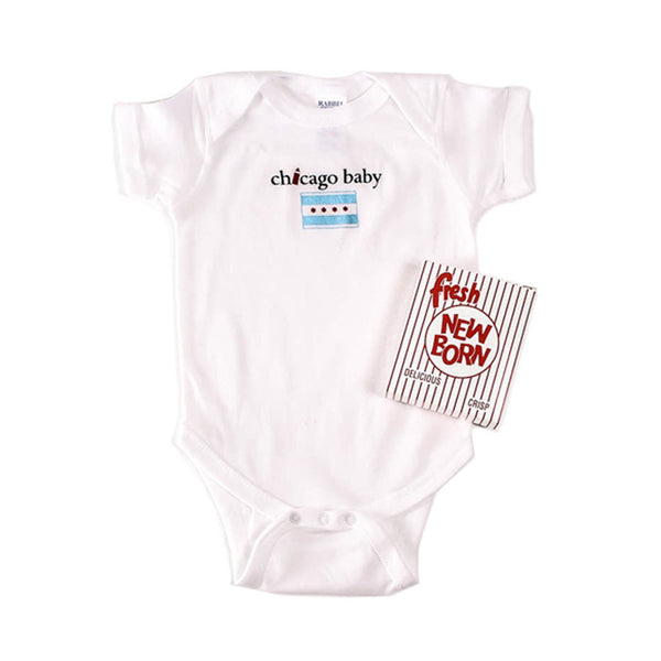 Chicago Baby Onesie Ravensgoods - Foursided