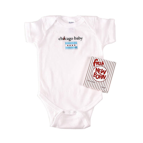 Chicago Baby Onesie