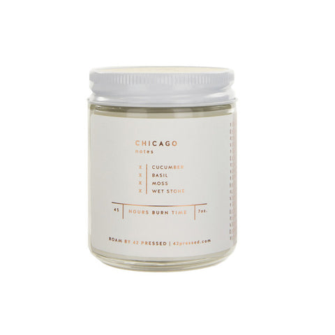 Luxe Chicago Soy Candle