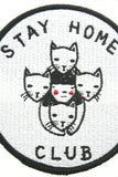 Stay Home Club Patch Stay Home Club - Foursided