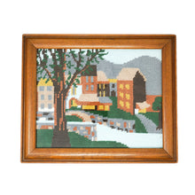 Vintage Village Needlepoint