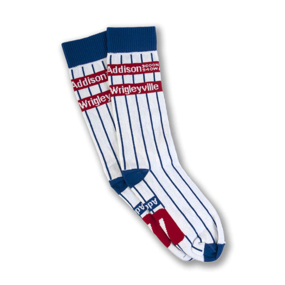 Addison Pinstripe Socks