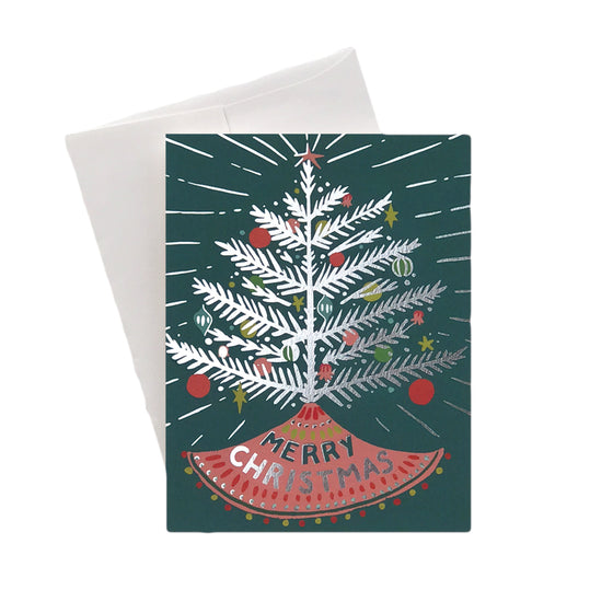 Aluminum Tree Boxed Cards (8)