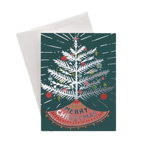 Aluminum Tree Holiday Card