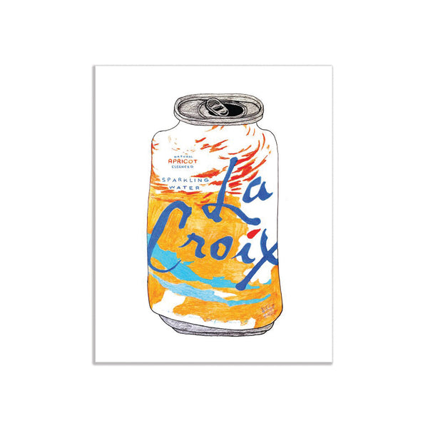 La Croix Can Print (Multiple Flavors) Melanie Jeanne Plank - Foursided