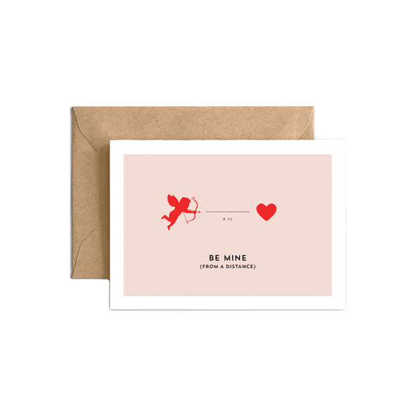 Be Mine (From a Distance) Card