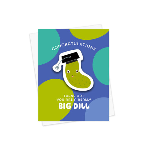 Big Dill Sticker Card