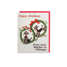 Chicago Bitches Holiday Card Set (6) Smitten Kitten - Foursided