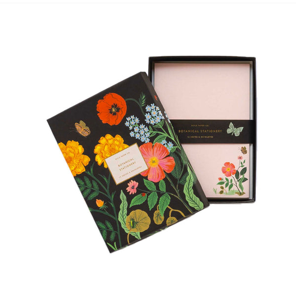 Botanical Social Stationery Set Rifle Paper Co. - Foursided