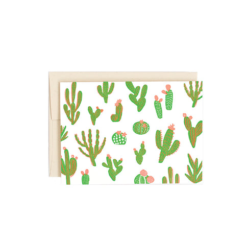 Cute Cacti Card