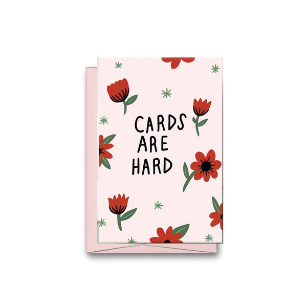 Cards Are Hard Card Stay Home Club - Foursided