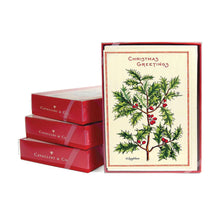 """Christmas Greetings"" Boxed Holiday Cards"
