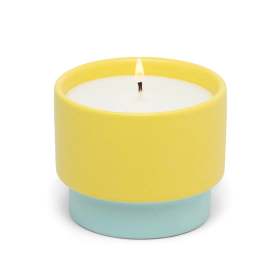 Color Block Ceramic 6oz Candle (multiple styles)