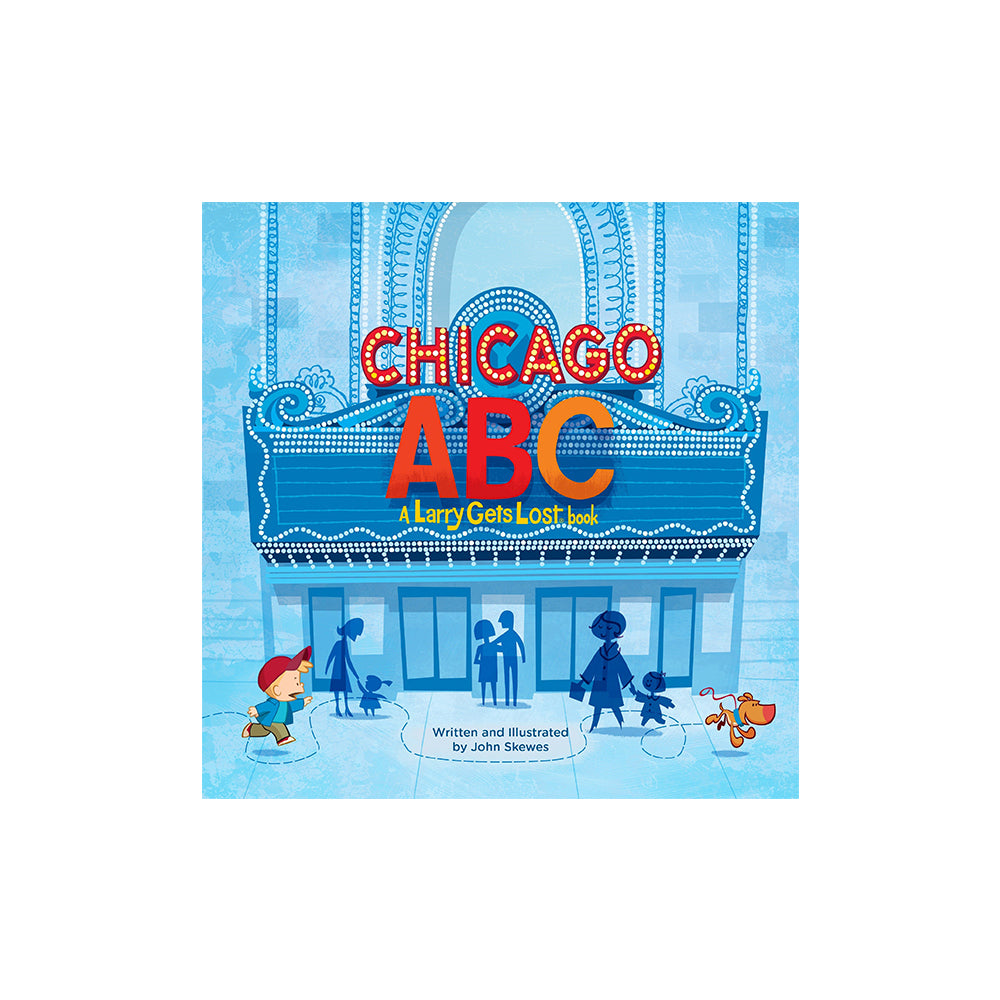 Chicago ABC Book Penguin - Foursided
