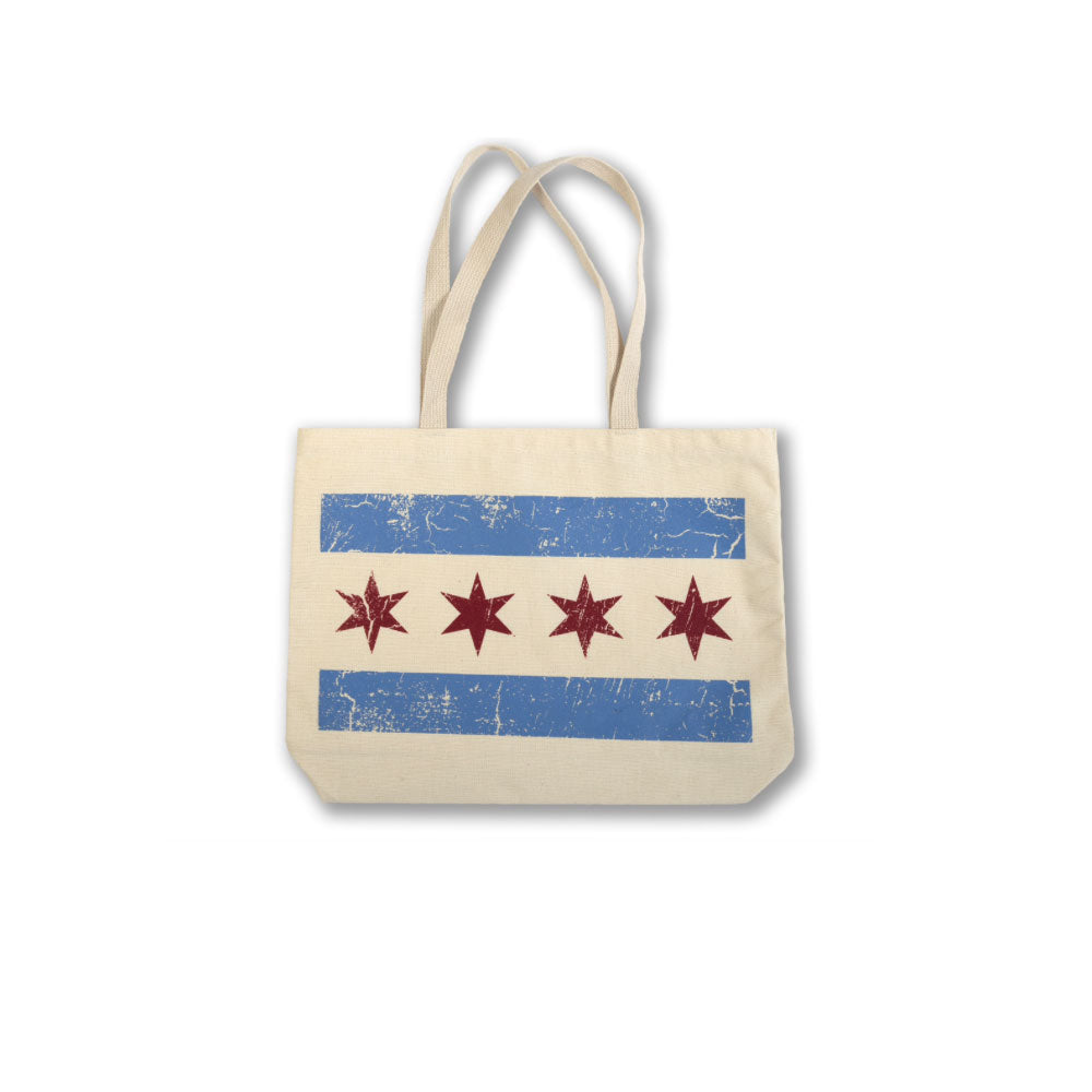Chicago Flag Tote