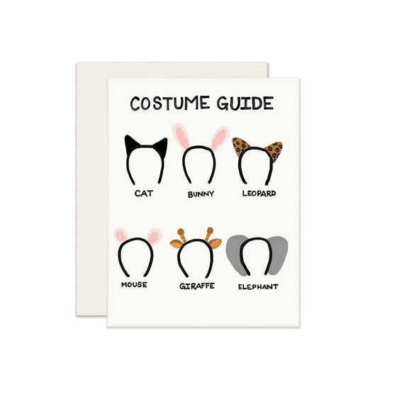 Costume Guide Card