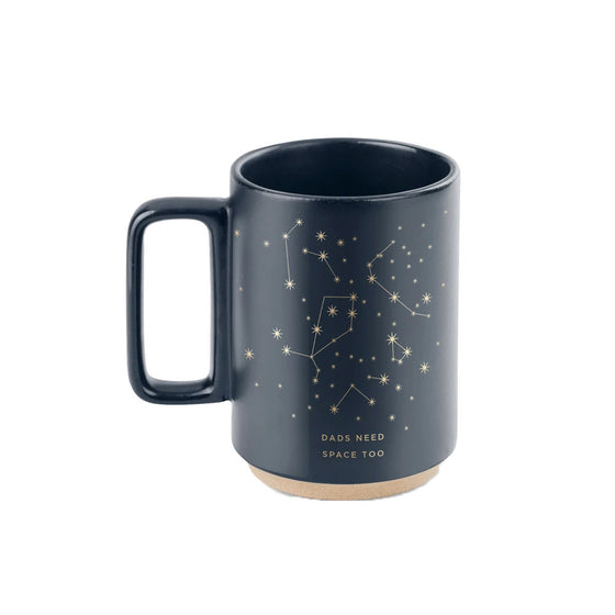 Space Dad Mug Fringe Studio - Foursided