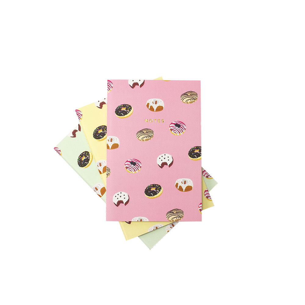 Donuts Notebook Set (3)