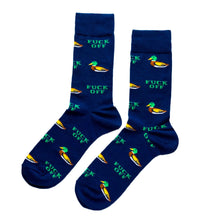 "Men's ""Duck Off"" Socks Yellow Owl Workshop - Foursided"