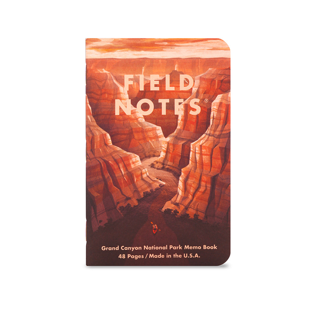 Grand Canyon National Park Memo Book Field Notes - Foursided