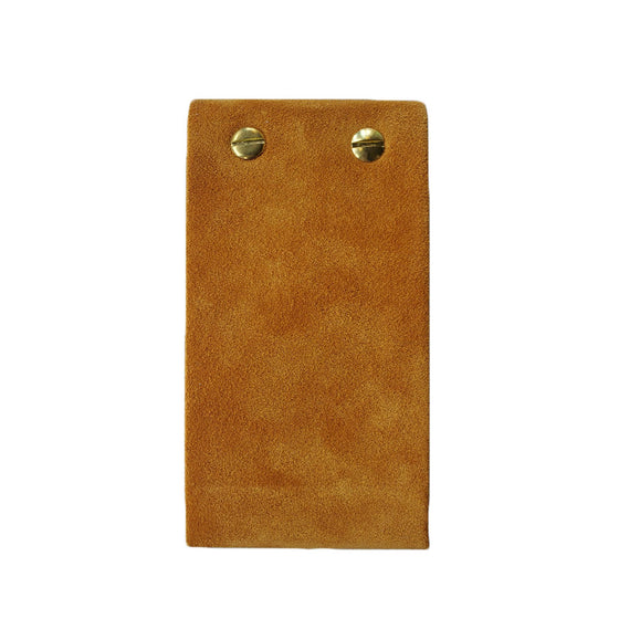 Flip Pad Leather Notebook