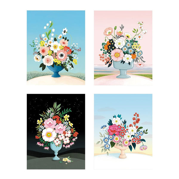 Flower Vases Boxed Cards