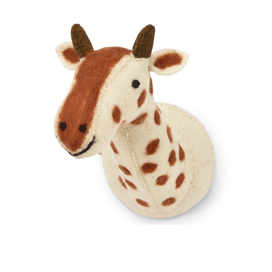 Mini Giraffe Wall Mount