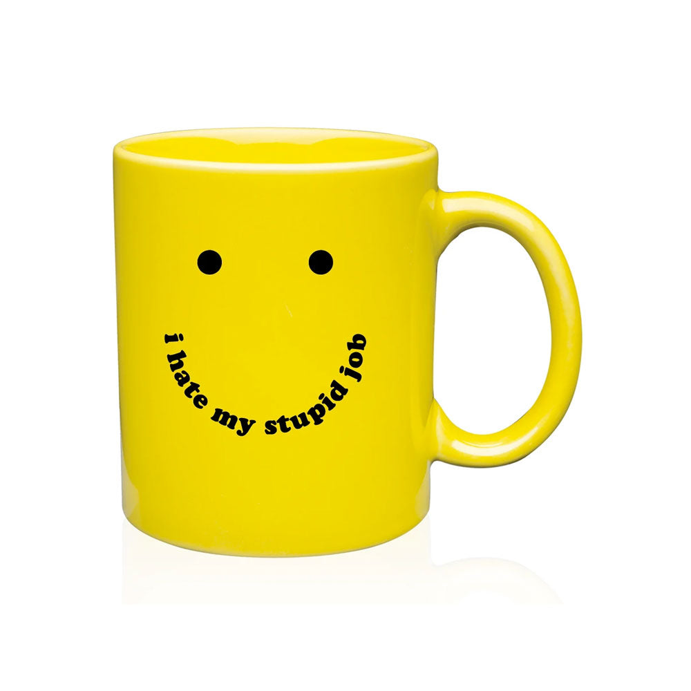 I Hate My Stupid Job Mug Talking Out Of Turn (TOOT) - Foursided