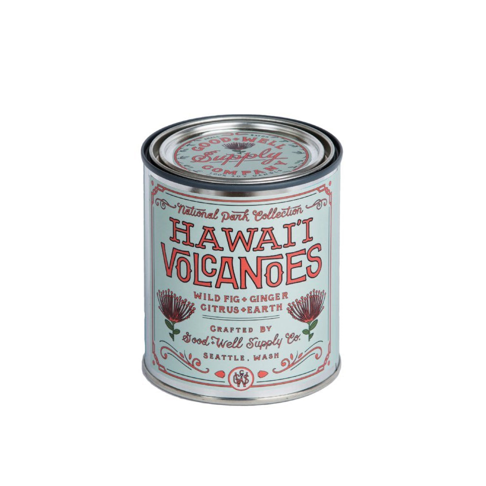 Hawaii Volcanoes National Park Candle Good & Well Supply Company - Foursided