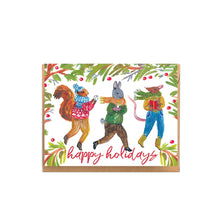 Holiday Animals Card