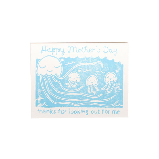Jelly Babies Mother's Day Card Ghost Academy - Foursided