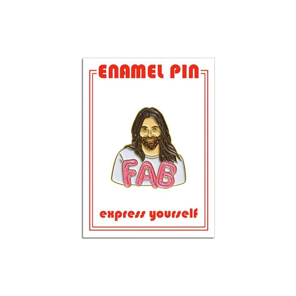 JVN Fab Enamel Pin the Found - Foursided