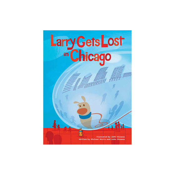 Larry Gets Lost In Chicago Book Penguin - Foursided