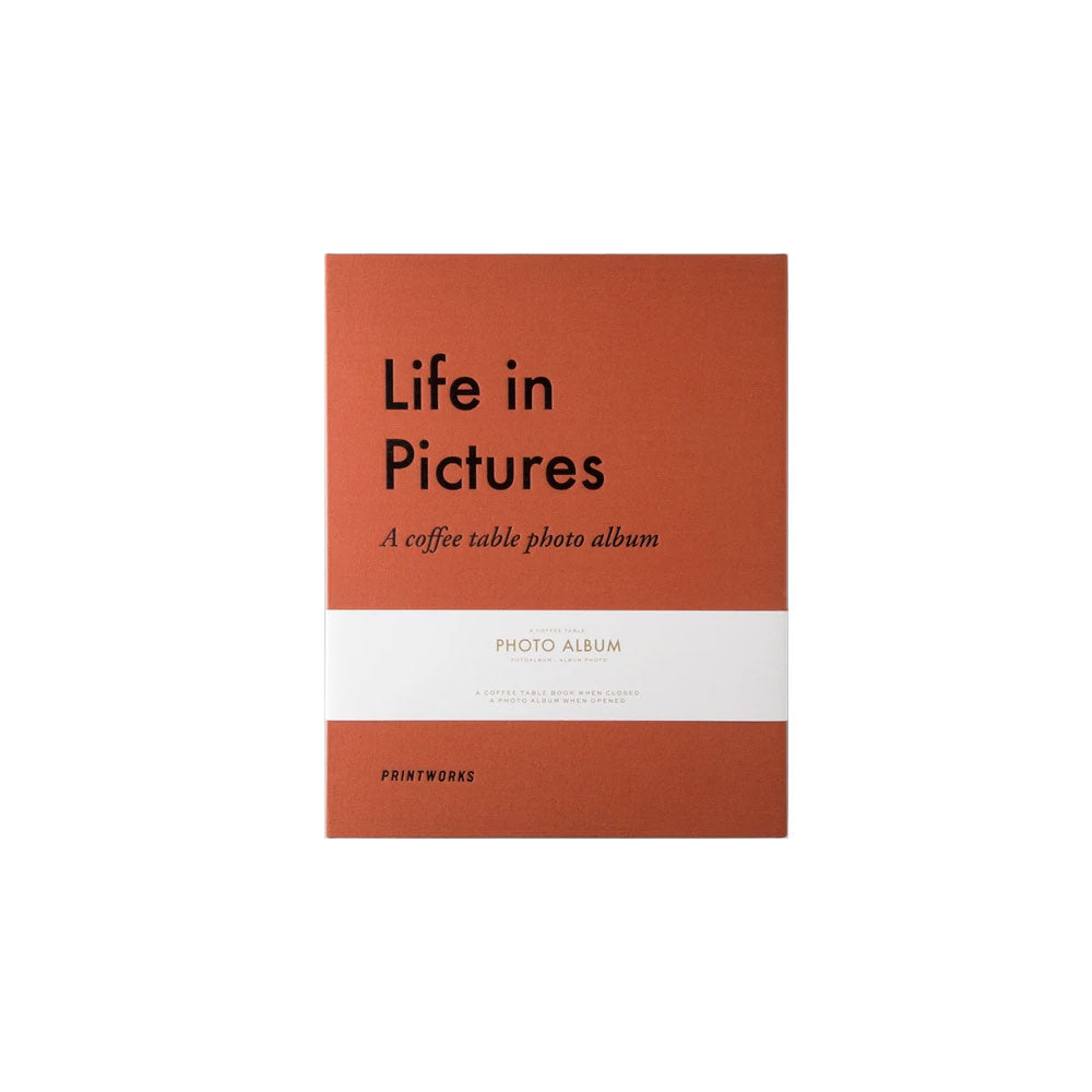 Life in Pictures Photo Album Scrapbook Printworks - Foursided