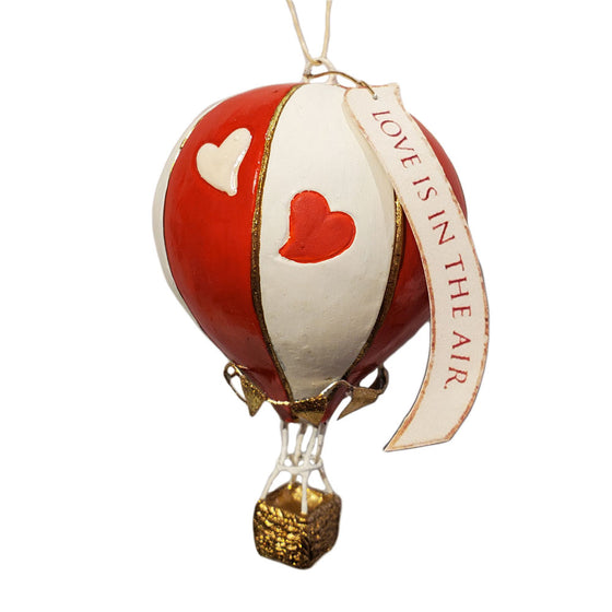 Love is In the Air Balloon Ornament