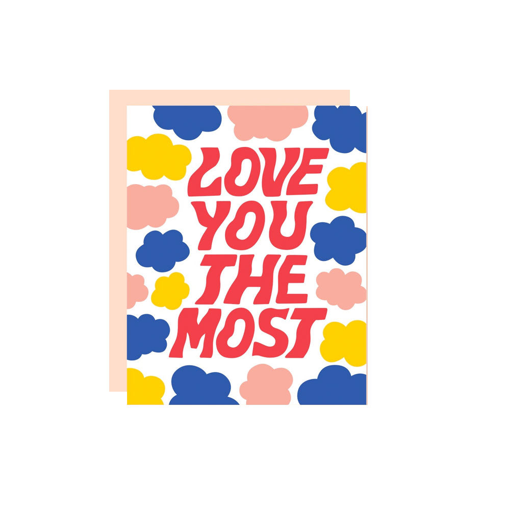 Love You The Most Card The Good Twin - Foursided