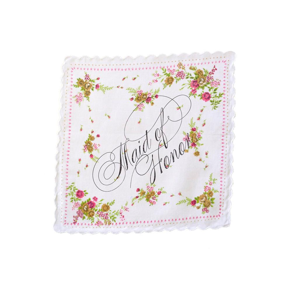 Wedding Handkerchief (multiple styles) Boldfaced Goods - Foursided