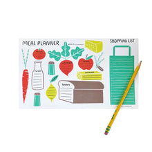 Meal Planner Pad Gingiber - Foursided