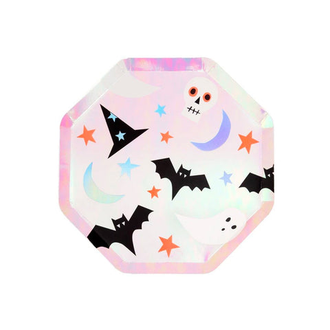 Halloween Icons Party Plates