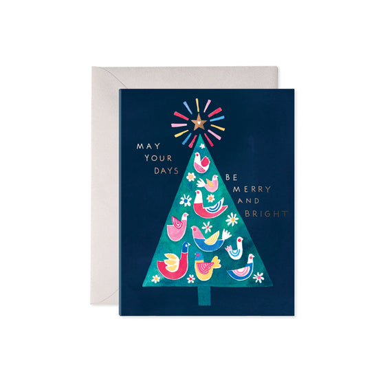 Merry Tree Boxed Cards (6)