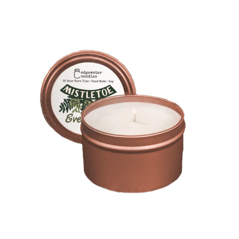 Mistletoe Evergreen Holiday Candle (Multiple Sizes)