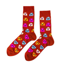Men's Mixed Emotions Socks Yellow Owl Workshop - Foursided