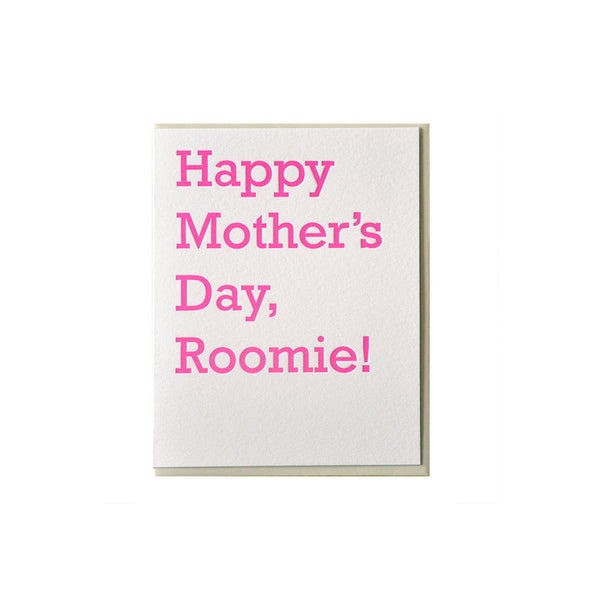 Mother's Day Roomie Card McBitterson's - Foursided