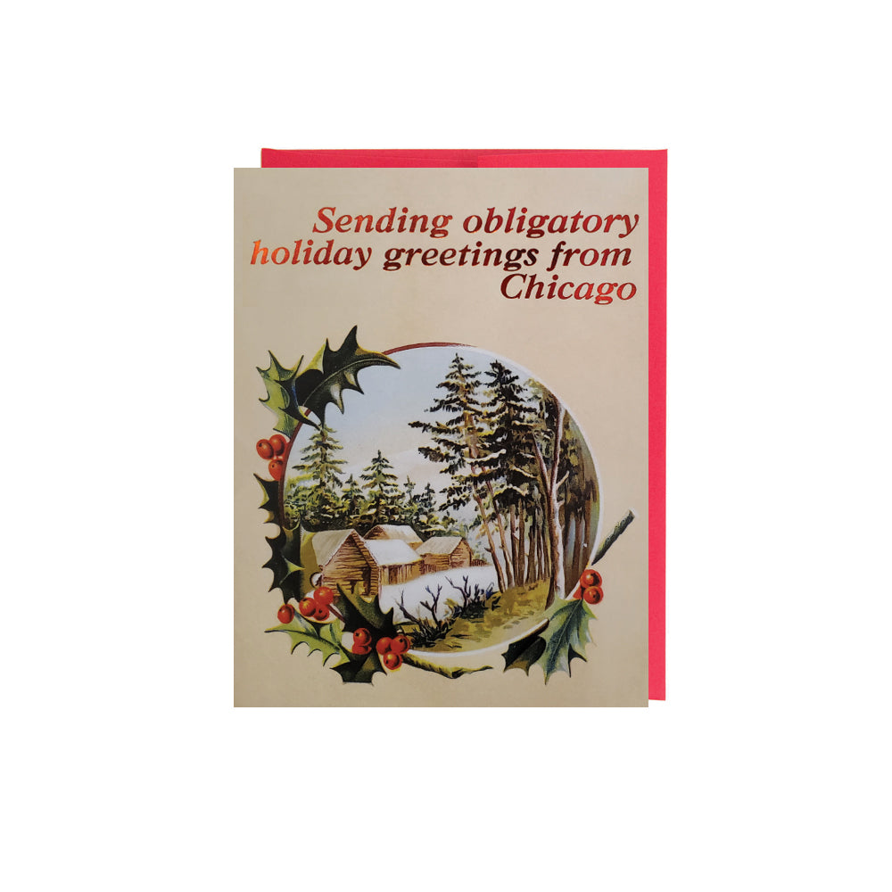 Obligatory Holiday Greetings Card Set (6)