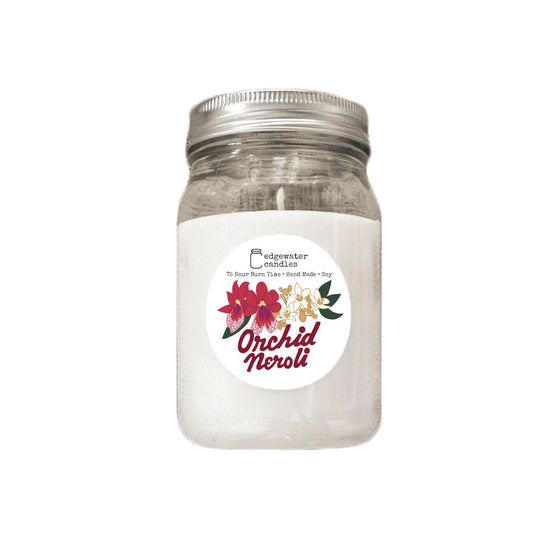 Mason Jar Candle (multiple scents)