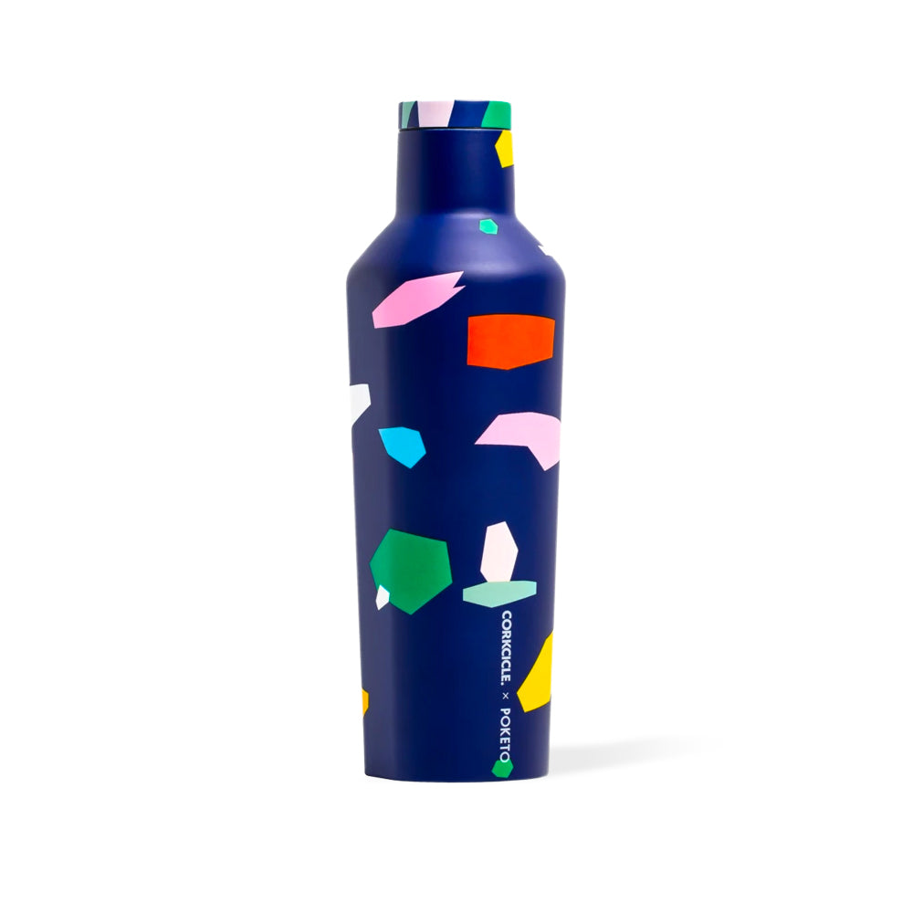 Blue Confetti Canteen Corkcicle - Foursided