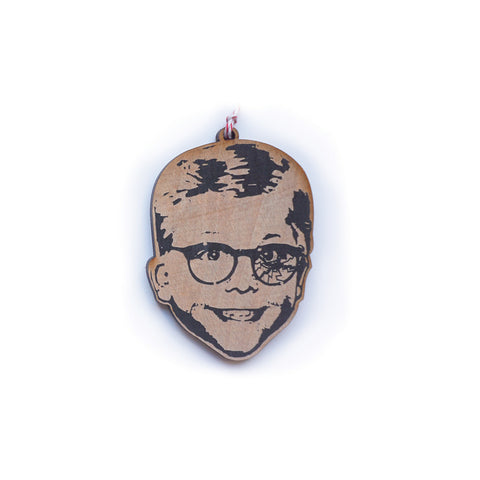 Ralphie Wood Ornament